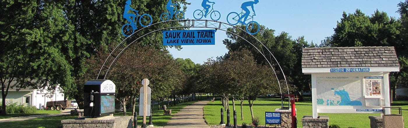 Bike the Sauk Rail Trail